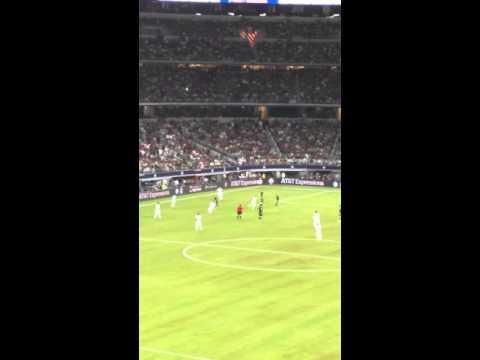 Mexico vs Argentina messi goal (fan cam)