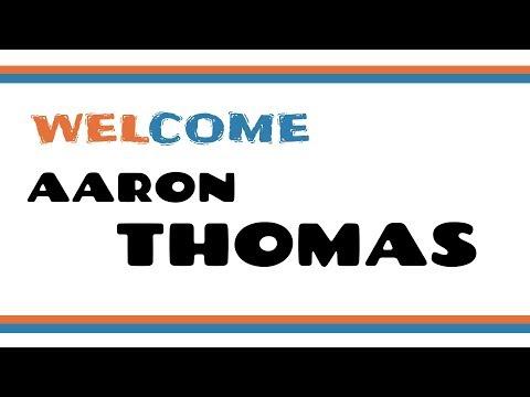 Welcome to Rome, Aaron Thomas