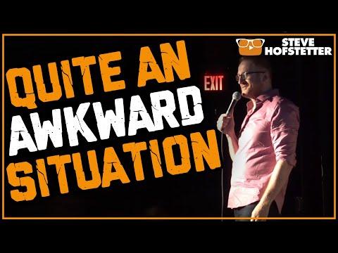 Anti-Semetic Heckler vs. Jewish Comedian - Steve Hofstetter