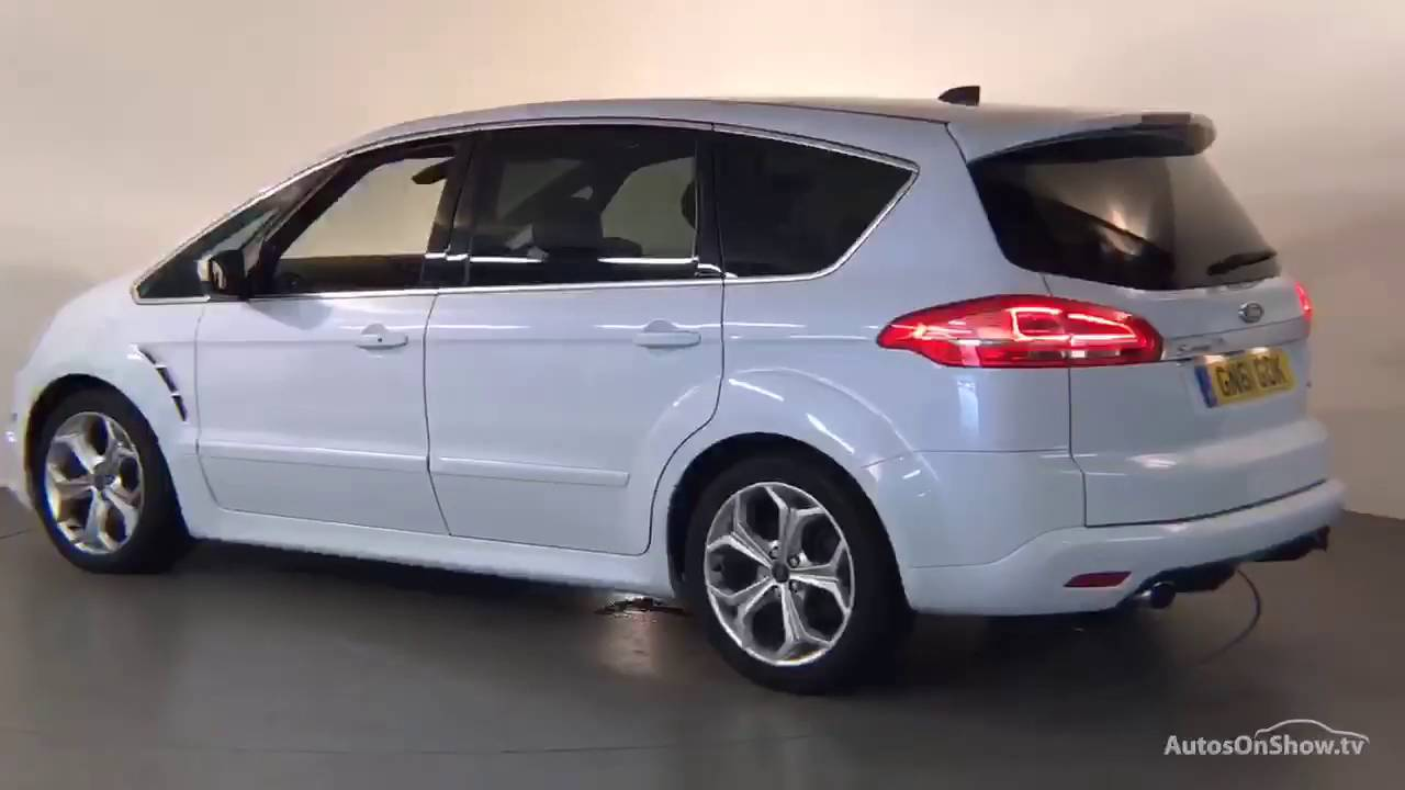 gn61gdk ford s max titanium x sport tdci white 2011 derby. Black Bedroom Furniture Sets. Home Design Ideas