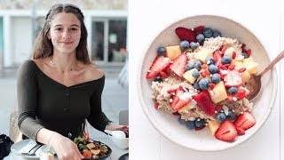 WHAT I EAT IN A DAY VEGAN #118 // OATMEAL HACK!