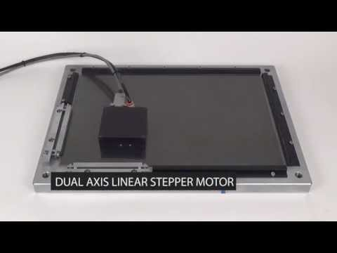 Dual Axis Linear Stepper Motor - LMDS0602-2A1 - YouTube
