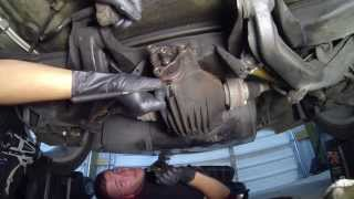 ChixGTO: 2004 GTO Pinion Seal and 1 Piece Aluminum Driveshaft Install - Chix Garage