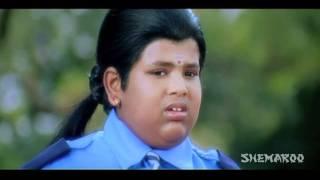 Ready Comedy - Spiderman slaps Chitti Man (Ram, Genelia D'Souza)