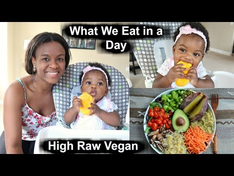 what-my-vegan-baby-and-i-eat-in-a-day-|-raw-food-ideas