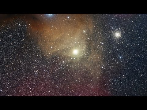 Zooming in on the red supergiant star Antares