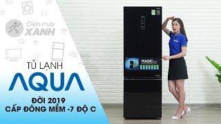Tủ lạnh Aqua Inverter 324 lít AQR-IG378EB GB: Ngăn đông mềm 7 chế độ   Điện máy XANH