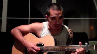 """Tutorial for How to Play """"Baby Girl"""" by Innervoices on Acoustic Guitar"""