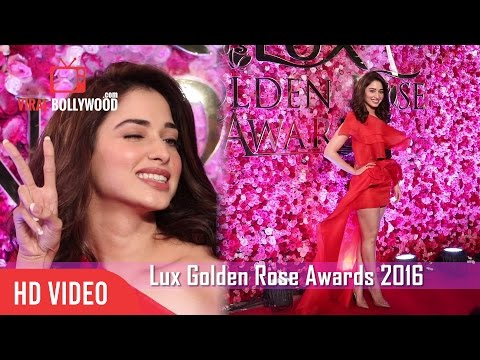 Tamannaah Bhatia At Lux Golden Rose Awards 2016 | Viralbollywood
