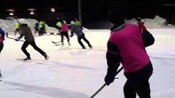 KMPP11: Monday Pond Hockey in Käpylän Urheilupuisto, Helsinki, Finland
