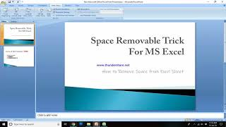 Tricks of MS Excel: How to Use TRIM formula in MS Excel