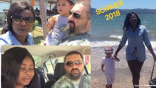 WEEKEND INTERRACIAL FAMILY SUMMER VLOG(2018) / ATHENS LIVING(ASPROPYRGOS )