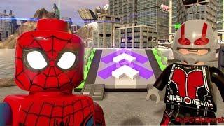 LEGO Marvel Super Heroes 2 - Stunt Hunt Challenge (All 15 Stunt Ramps)