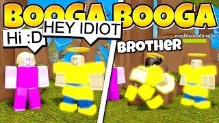 MY BROTHER KILLS MY BULLIES | Roblox Booga Booga