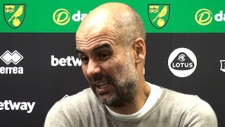 Norwich 3-2 Man City - Pep Guardiola Full Post Match Press Conference - Premier League