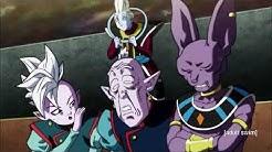 Whis and the other Gods react to Goku unlocking Ultra Instinct - English Dub