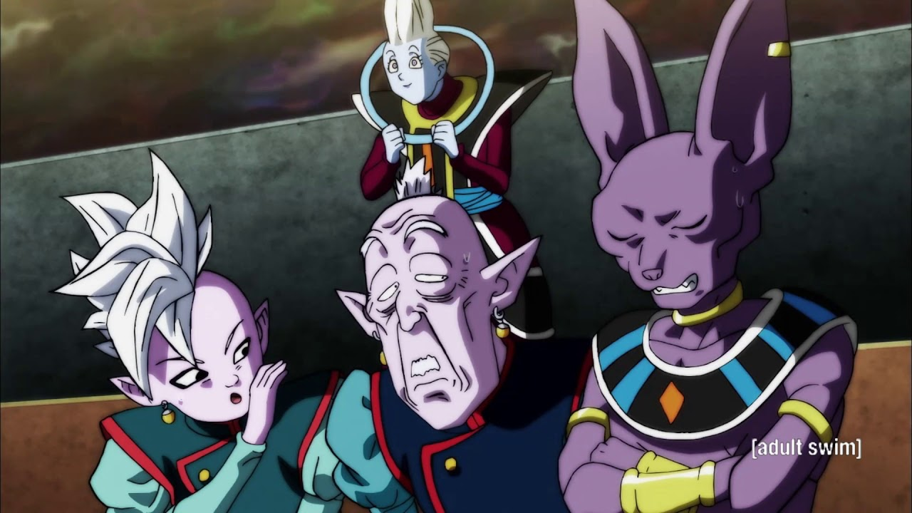 Download Whis and the other Gods react to Goku unlocking Ultra Instinct - English Dub