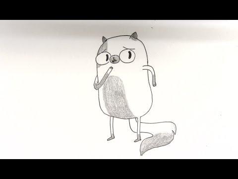 Cómo dibujar a Cake de Hora de Aventura ( Adventure Time ) - YouTube