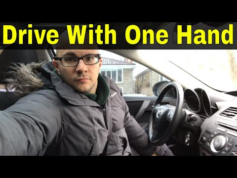 How To Drive With One Hand-Driving Lesson