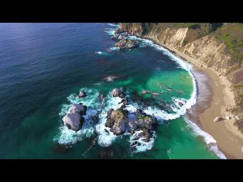 Big Sur DJI Phantom 4 Footage