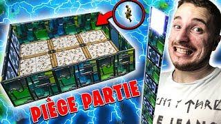 PIÈGE-PARTIE SUR FORTNITE BATTLE ROYALE EN TERRAIN DE JEU !!!