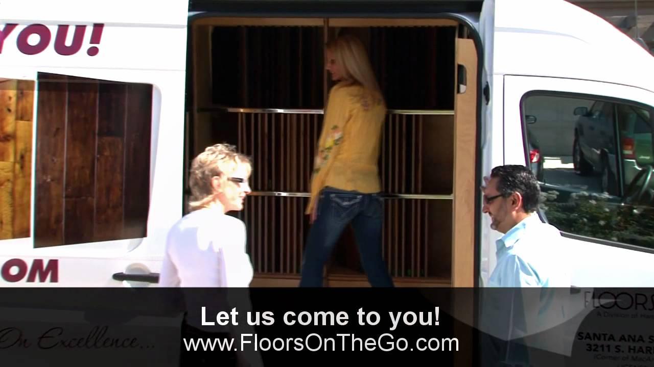 Floors On The Go - Mobile Showroom - YouTube