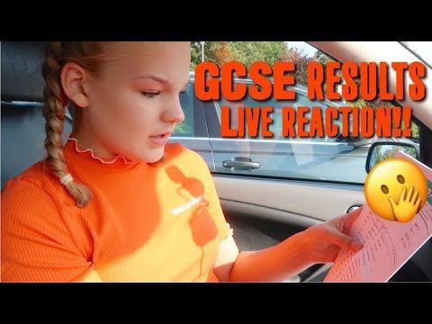 OPENING MY GCSE RESULTS *LIVE REACTION*~lush leah