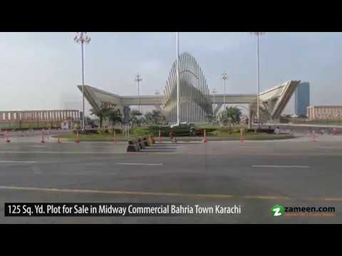 TOP LOCATION COMMERCIAL PLOT WITHOUT TRANSFER FEE AVAILABLE FOR SALE IN BAHRIA MIDWAY KARACHI