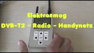 Elektrosmog DVB T Radio vs Handysender