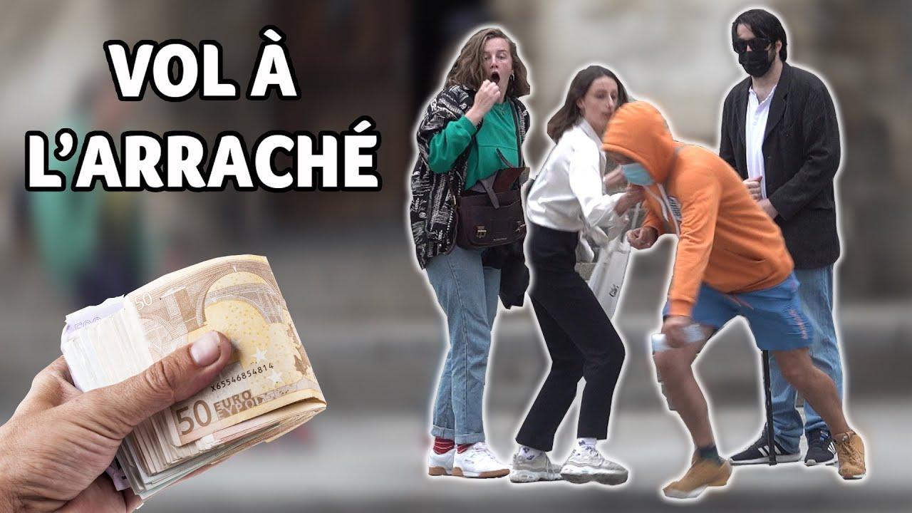 Un aveugle se fait voler 30 000 € ! - Prank - Les Inachevés