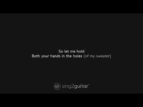 Sweater Weather (Female Key - Acoustic Guitar Karaoke) The Neighbourhood
