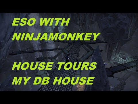 ESO with Ninjamonkey0169 House Tours My Erstwhile Sanctuary