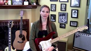 The Smiths-Some Girls Are Bigger Than Others-Guitar Lesson-Allison Bennett