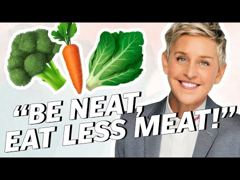 ELLEN Degeneres Says DITCH MEAT (For The Planet) | Vegan News | LIVEKINDLY
