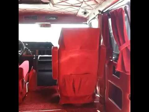 Safari Custom Upholstery Interior Conversion Van