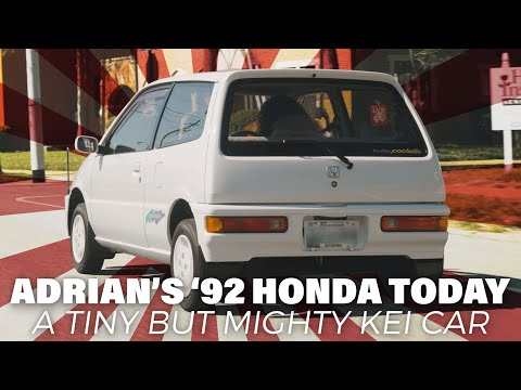 Adrían's 1992 Honda Today // A Tiny But Mighty Kei Car