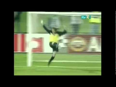 One Of The Greatest Goals Of All Time - Fiorentina vs Barcelona - Mauro Bressan's Bicycle Kick