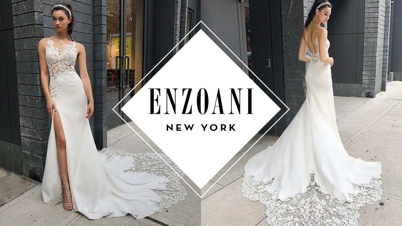 444a99b57db New York Bridal Fashion Week - Enzoani 2018 Bridal Collection Highlight -  YouTube