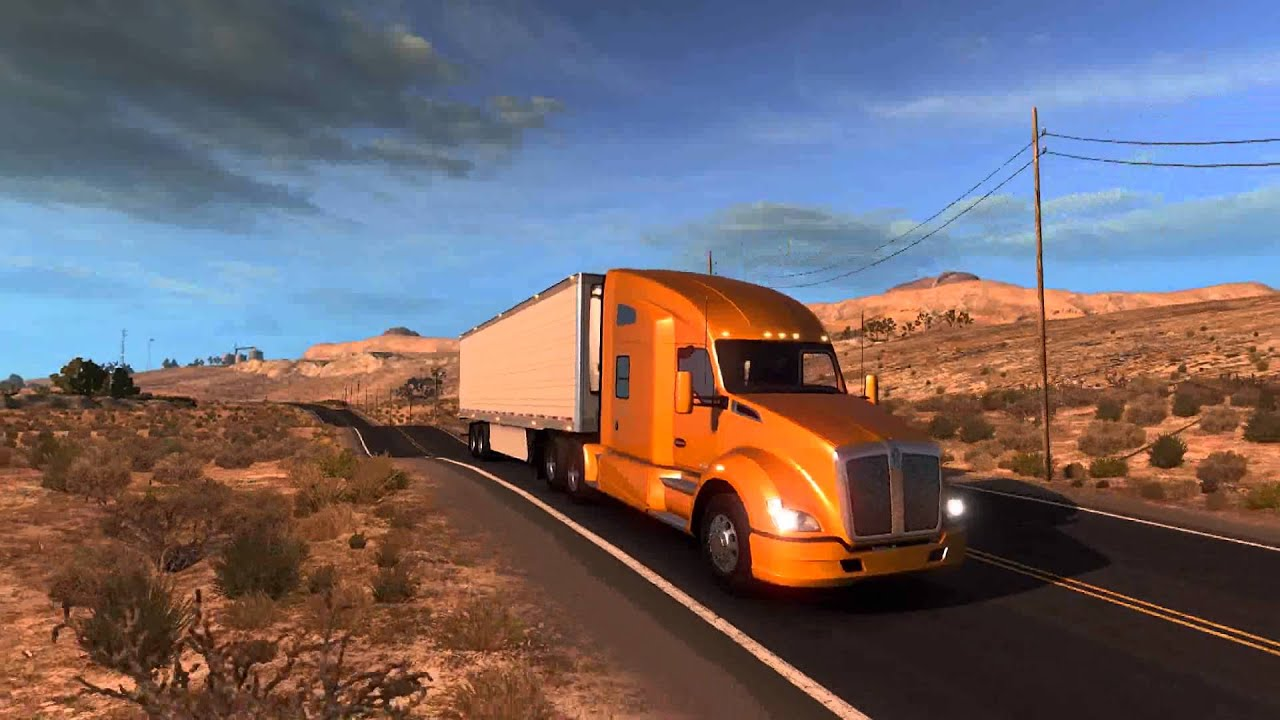 american truck simulator official trailer youtube. Black Bedroom Furniture Sets. Home Design Ideas