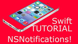 Swift (iOS) NSNotification Tutorial