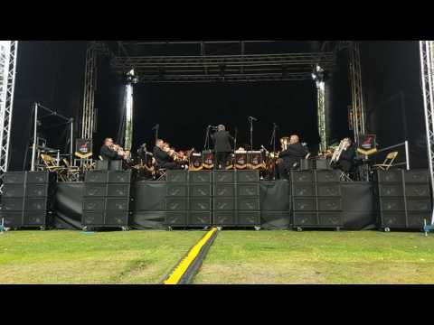 Pirates of the Caribbean - Unite the Union - Music in the Gardens - Sheffield Botanical Gardens 2017