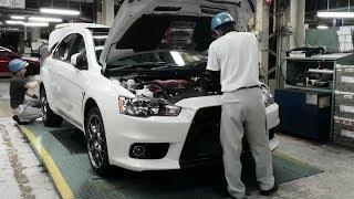 Так Собирали Мицубиси Лансер.Mitsubishi Lancer Evolution