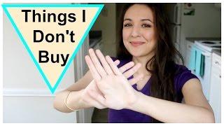Things I No Longer Buy | Minimalism, Sustainability thumbnail