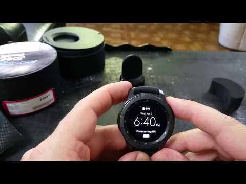 The Samsung Gear S3 Frontier Smartwatch - An Indepth Look!