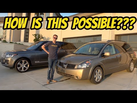 Here's Why This $4000 Nissan Quest Is More Luxurious Than A Range Rover