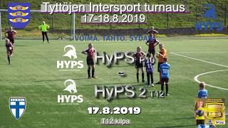 Tyttöjen Intersport-turnaus 2019 HyPS P10 vs HyPS 2 T12