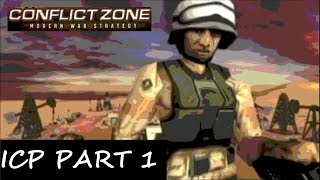 Conflict Zone PS2 Gameplay Campaign ICP Playthrough PART 1