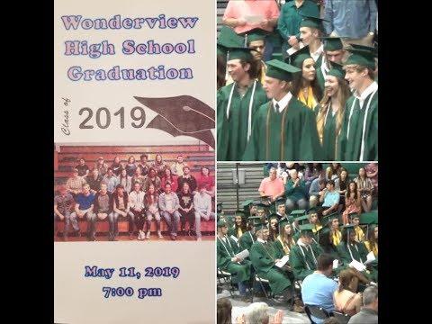 Wonderview High School Graduation Class of 2019