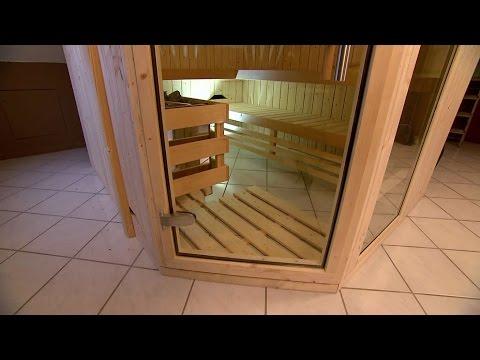 Sauna selbstgebaut: Heißer Tipp für kalte Tage