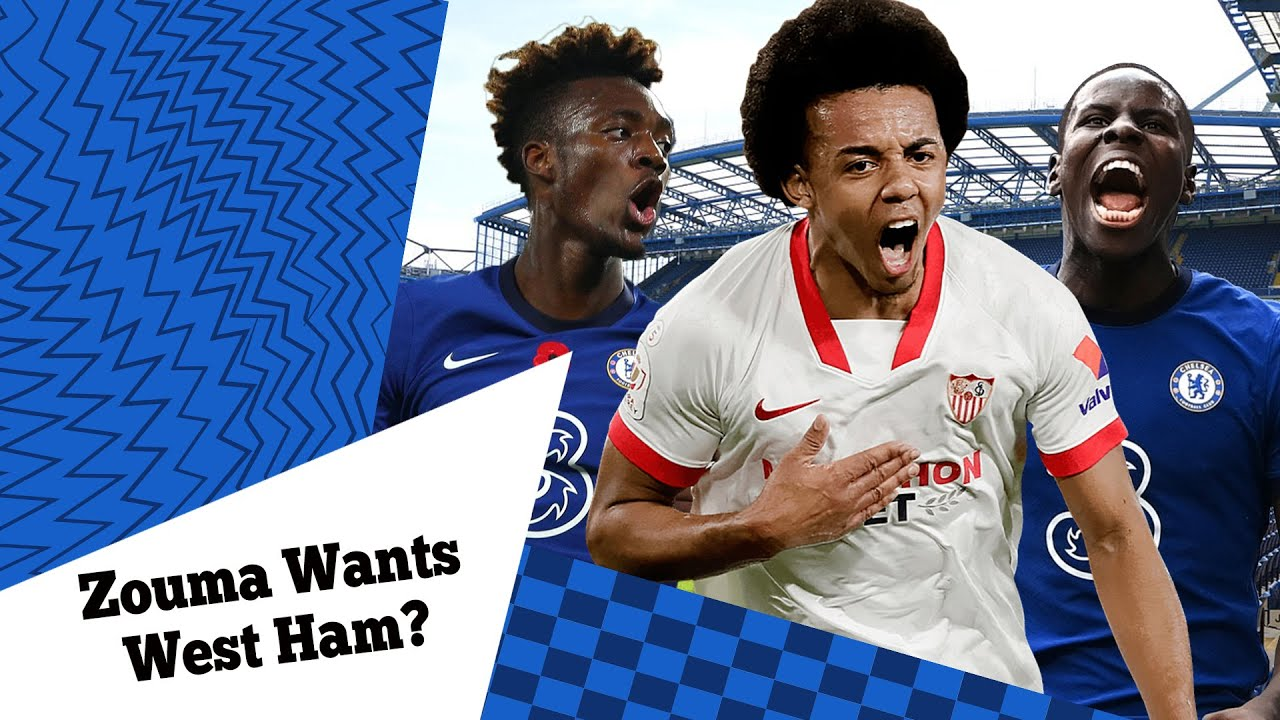 Kurt Zouma Wants West Ham Over Sevilla?   Chelsea Lower Tammy Abraham Transfer Fee?  Haaland, Kounde